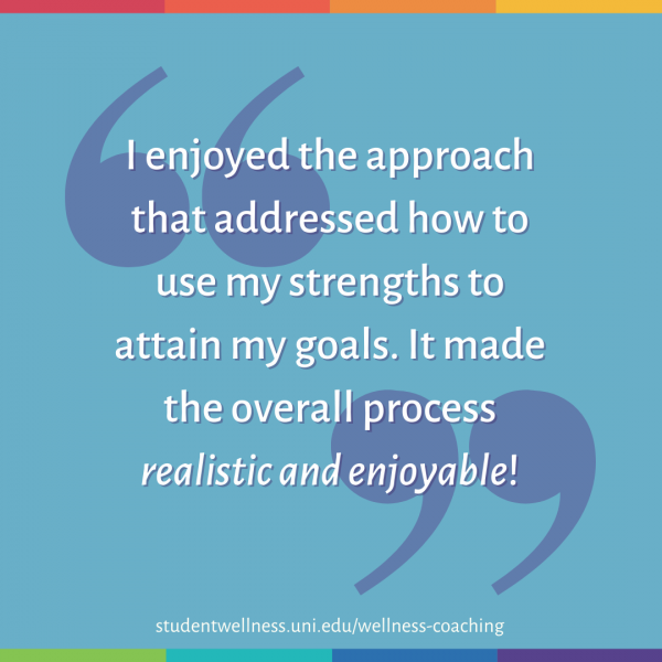 I enjoyed the approach that addressed how to use my strengths to attain my goals. It made the overall process realistic and enjoyable!
