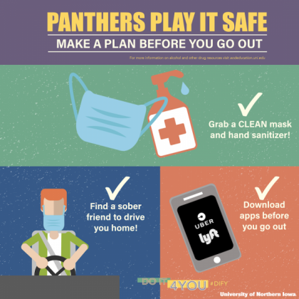 Panthers Play It Safe, Get A Ride If You Choose To Drink