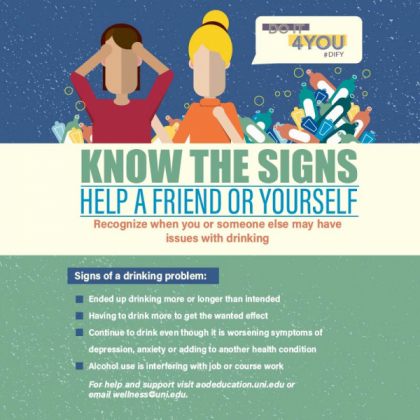 Know The Signs, Help  A Friend Or Yourself