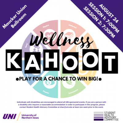 Wellness Kahoot - Play for a Chance to Win Big!