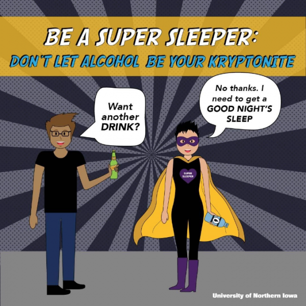 Be a super sleeper: Don't let alcohol be your kryptonite