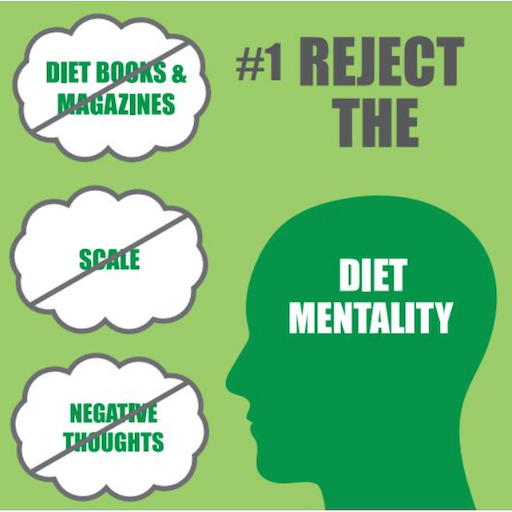 #1 Reject the Diet Mentality