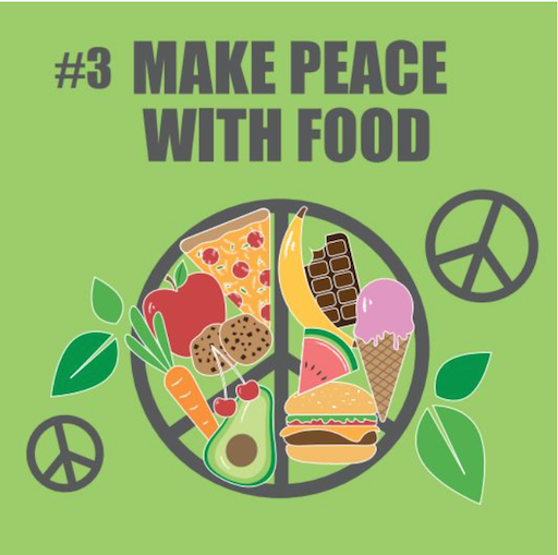 #3 Make Peace With Food