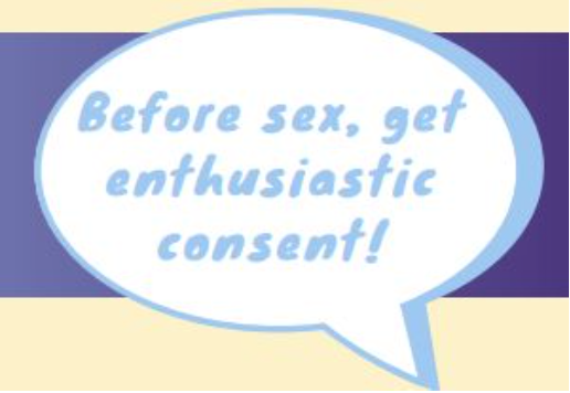 Before sex, get enthusiastic