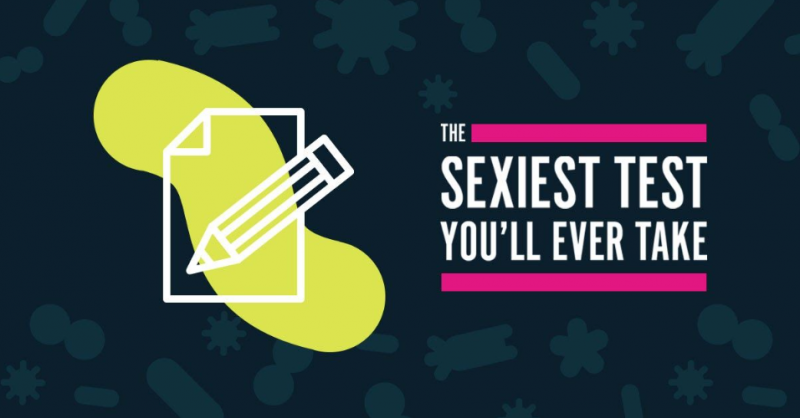 The sexiest test you'll ever take