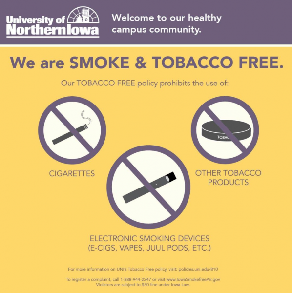 We are Smoke & Tobacco Free