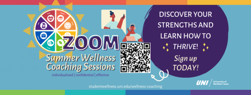 Zoom Summer Wellness Coaching Sessions
